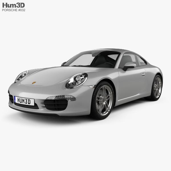 Porsche 911 Carrera Coupe 2012 3D model