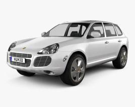 3D model of Porsche Cayenne S 2003