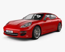 3D model of Porsche Panamera 2012