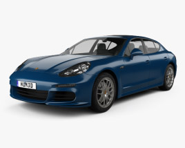 3D model of Porsche Panamera 4S 2014
