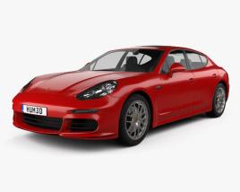 3D model of Porsche Panamera 4 2014