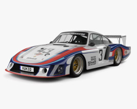 3D model of Porsche 935/78 Moby Dick 1978
