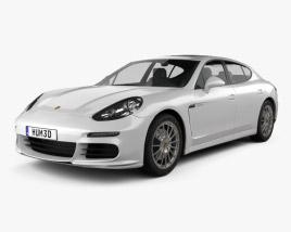 3D model of Porsche Panamera S E-Hybrid 2014