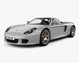 3D model of Porsche Carrera GT (980) 2004