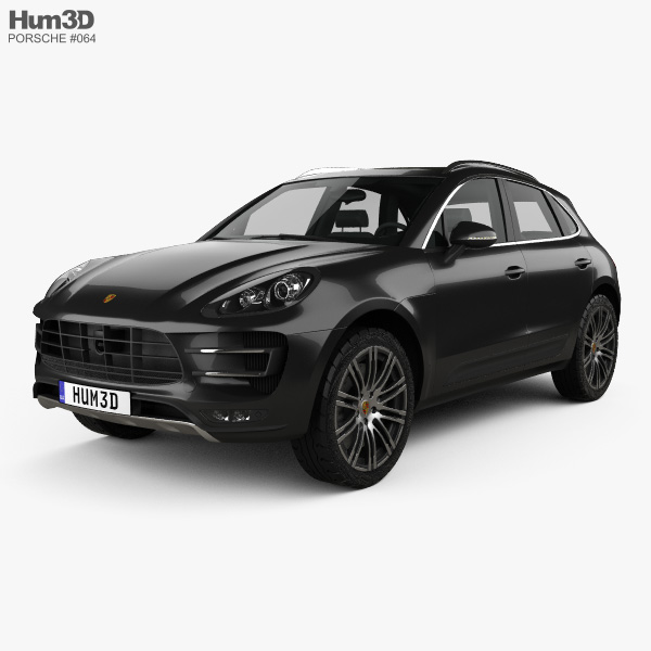 Porsche Macan Turbo 2014 3D model