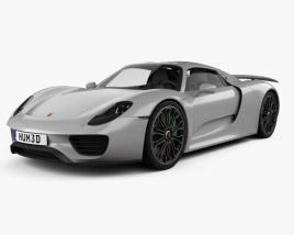 3D model of Porsche 918 Spyder 2015