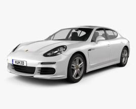 3D model of Porsche Panamera Disel 2014