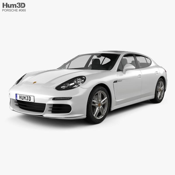 Porsche Panamera Disel 2014 3D model