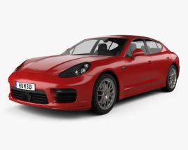 3D model of Porsche Panamera GTS 2014