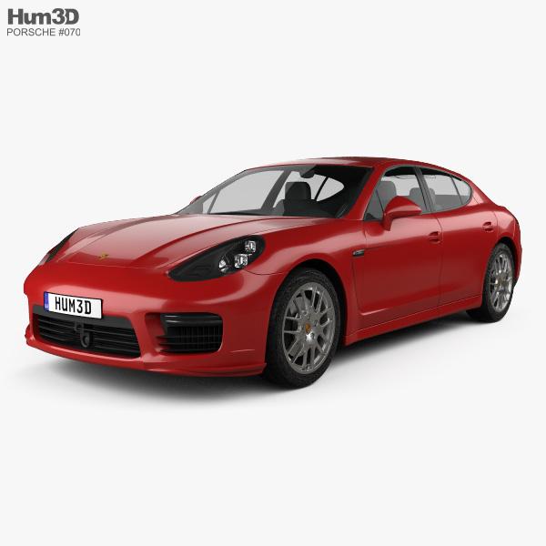 Porsche Panamera GTS 2014 3D model