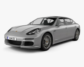 Porsche Panamera Turbo Executive 2014 3D model