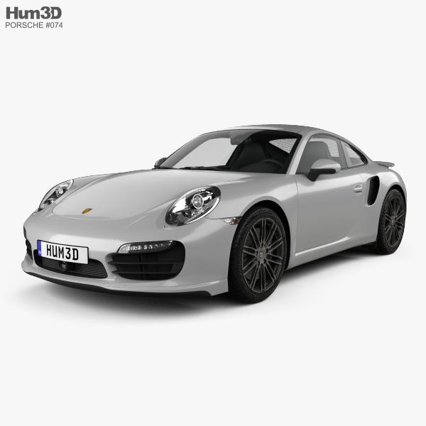 Porsche 911 Carrera (991) Turbo 2012 3D model