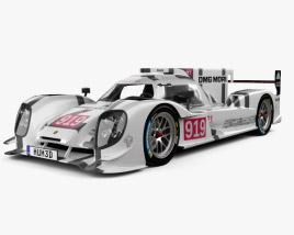 Porsche 919 Hybrid 2014 3D model