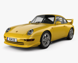 Porsche 911 Carrera RS Clubsport (993) 1995 3D model