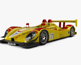 3D model of Porsche RS Spyder 2008