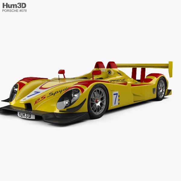 Porsche RS Spyder 2008 3D model