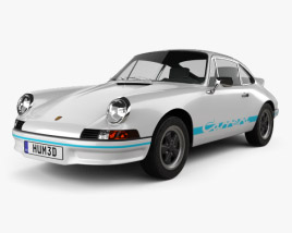 3D model of Porsche 911 Carrera RS Sport (911) 1972
