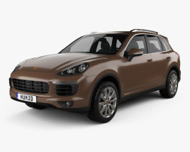 3D model of Porsche Cayenne S Diesel 2014
