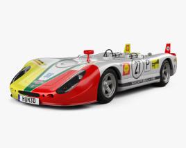 3D model of Porsche 908/02 Flunder Spyder 1969