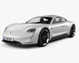 3D model of Porsche Mission E 2015