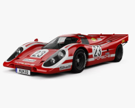 3D model of Porsche 917 K Team Salzburg 1970