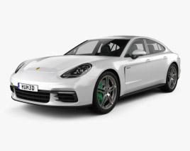 3D model of Porsche Panamera 4 E-Hybrid 2016