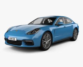 3D model of Porsche Panamera 4S 2016