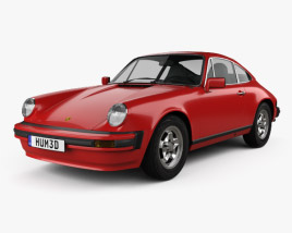 3D model of Porsche 911 SC Coupe (911) 1978