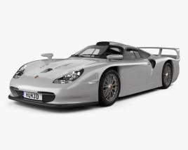 3D model of Porsche 911 GT1 Stradale (993) 1996