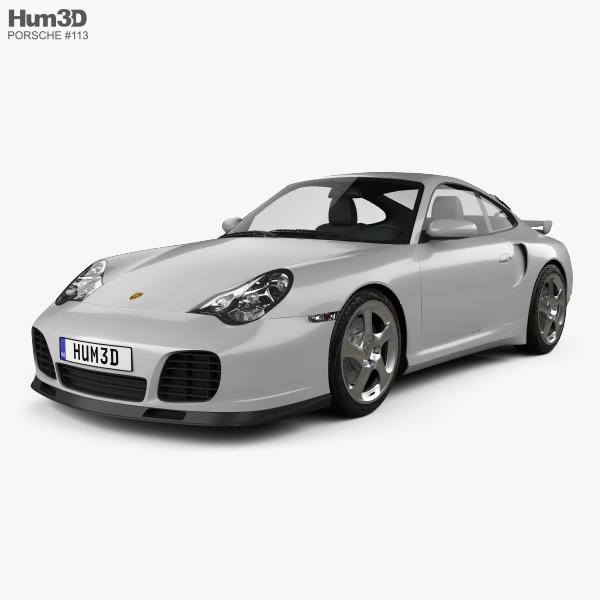 Porsche 911 Turbo Coupe (996) 2000 3D model