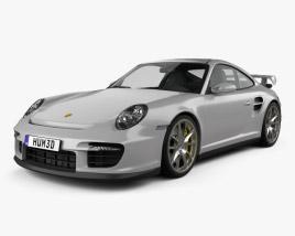3D model of Porsche 911 GT2 (997) 2007