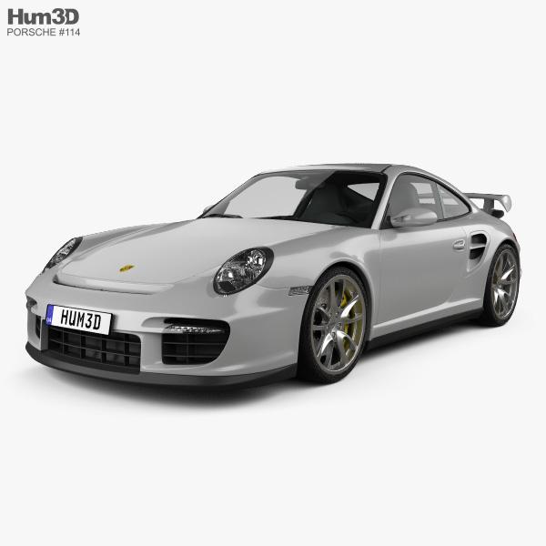 Porsche 911 GT2 (997) 2007 3D model