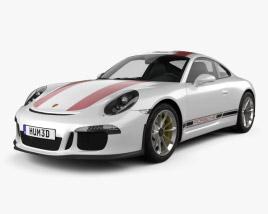 3D model of Porsche 911 R (991) 2017