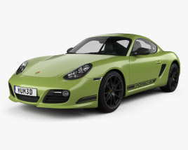 3D model of Porsche Cayman R (987C) 2010