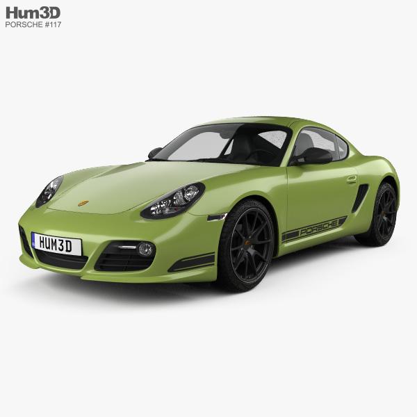 3D model of Porsche Cayman R (987C) 2010