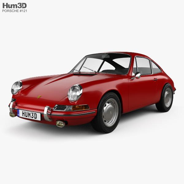 Porsche 911 Coupe Prototyp (901) 1962 3D model