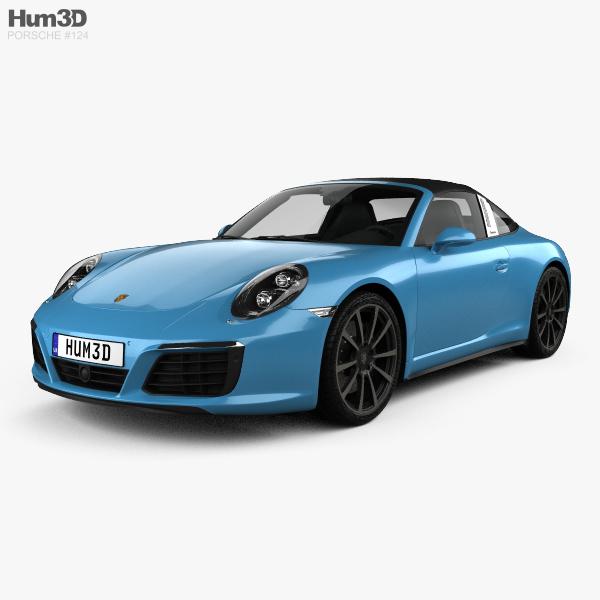 Porsche 911 Targa (991) 4S 2016 3D model