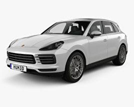 3D model of Porsche Cayenne S 2017