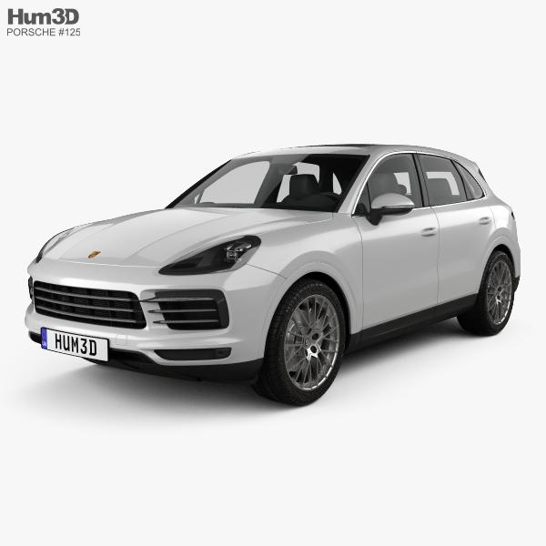 Porsche Cayenne S 2017 3D model
