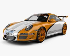 3D model of Porsche 911 GT3 RS 2011