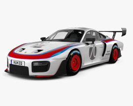 3D model of Porsche 935 2019
