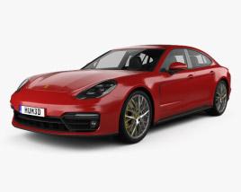 3D model of Porsche Panamera GTS 2019