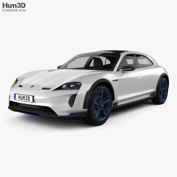 Porsche Mission E Cross Turismo 2018 3D model