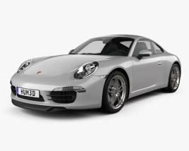 Porsche 911 Carrera 4 S coupe 2012 3D model