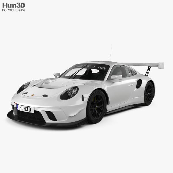Porsche 911 GT3 R 2019 3D model