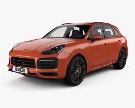 3D model of Porsche Cayenne GTS 2020
