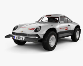 3D model of Porsche Singer All-terrain Competition Study 2021