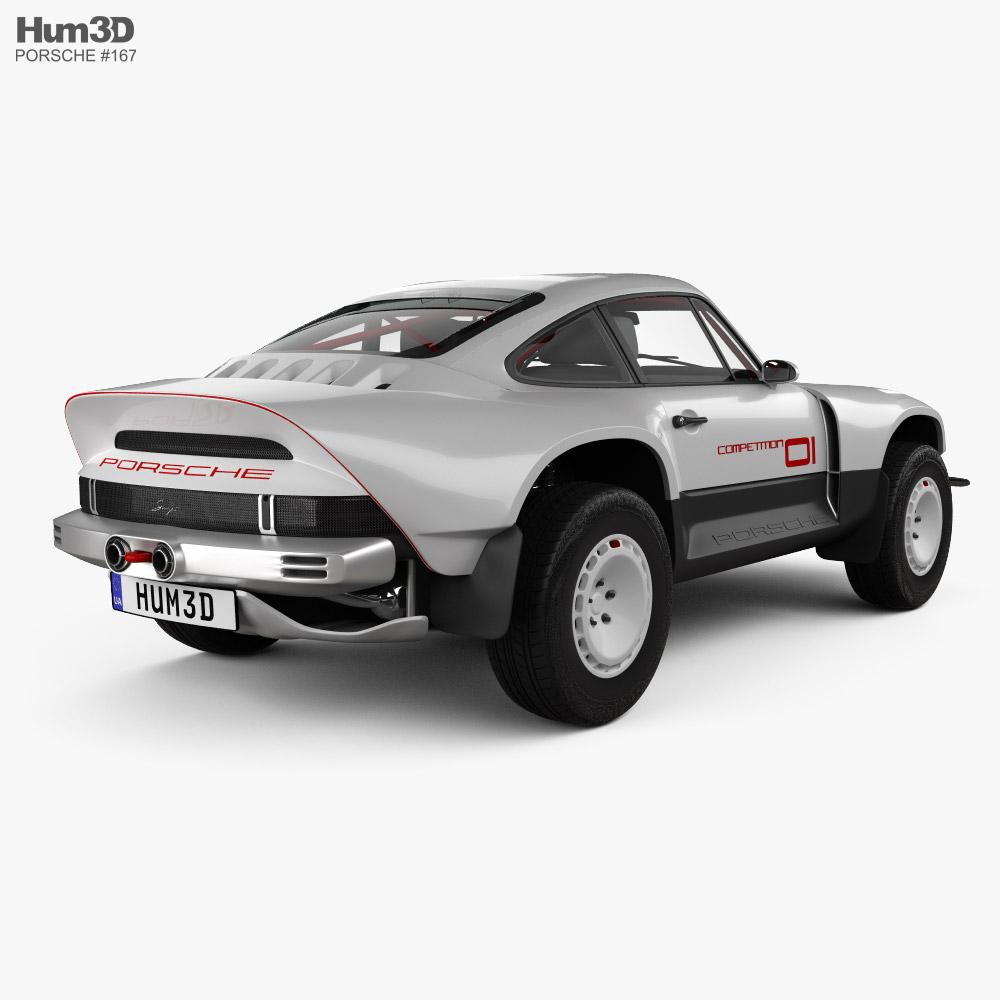 Porsche Singer All-terrain Competition Study 2021 3d model