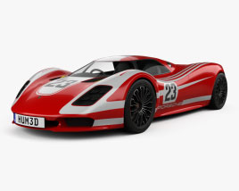 Porsche 917 Living Legend 2013 3D model
