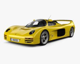 Porsche Schuppan 962CR 1993 Modelo 3D